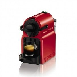 Cafetera Nespresso Krups Inissia XN1005 ruby red Roja