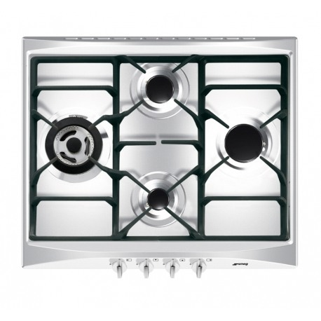 Placa de gas smeg sr264xgh - Placas cocina gas ...