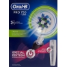 Cepillo Dental Eléctrico Braun Oral B Pro 750 Cross Action + Estuche