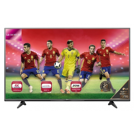 "Televisor LED 4K Ultra HD 55"" LG 55UH600V Smart TV"