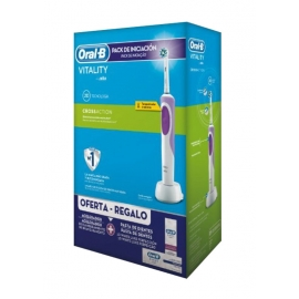 Cepillo Dental Eléctrico Braun Oral B Vitality CrossAction Azul