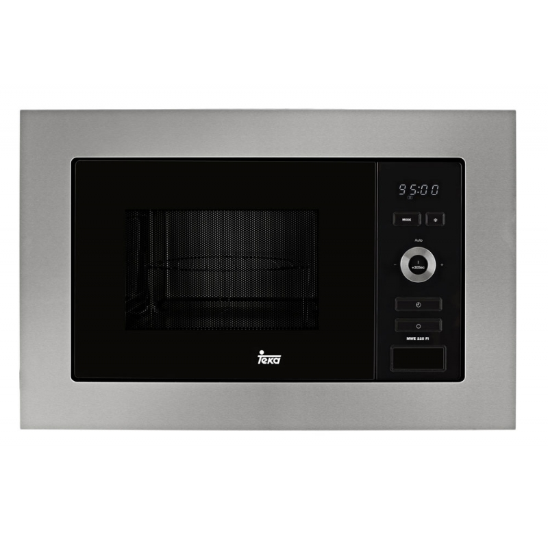 Microondas integrable con grill teka mwe 225 fi inox 800w for Microondas integrable