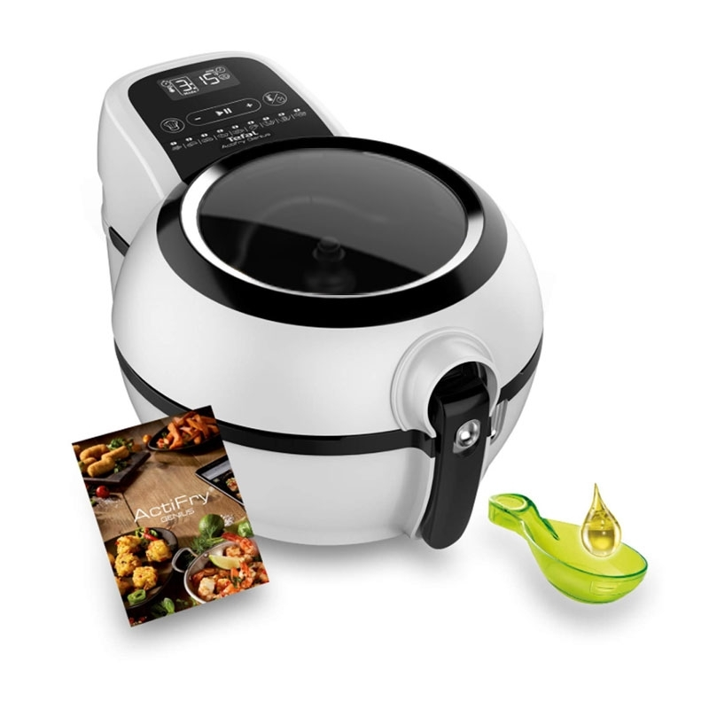 Freidora Tefal FZ761015 ActiFry Genius Snackings 1kg