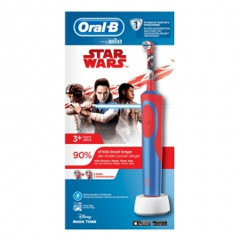 Cepillo Dental Eléctrico Braun Oral B D12 Vitality Star Wars
