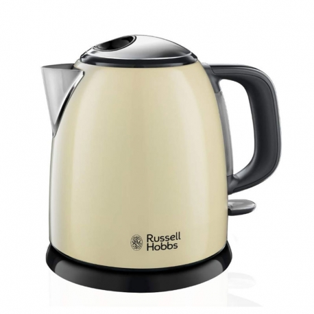 Hervidor de agua Russell Hobbs 24994-70 Colours Plus+ Cream Mini 1L color crema
