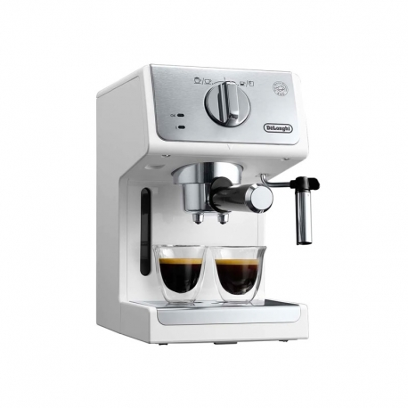 Cafetera Express Manual DeLonghi ECP 33.21W Blanca