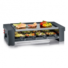 Raclette-Pizza con grill Severin RG 2687 350x215 mm