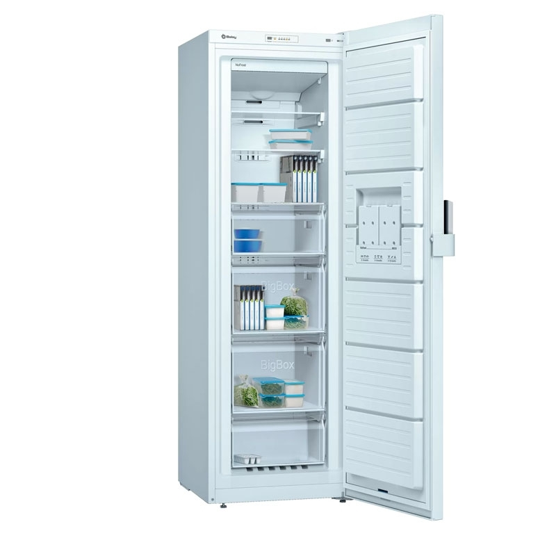 Congelador una puerta Balay 3GFF563WE Blanco No Frost 186cm A++