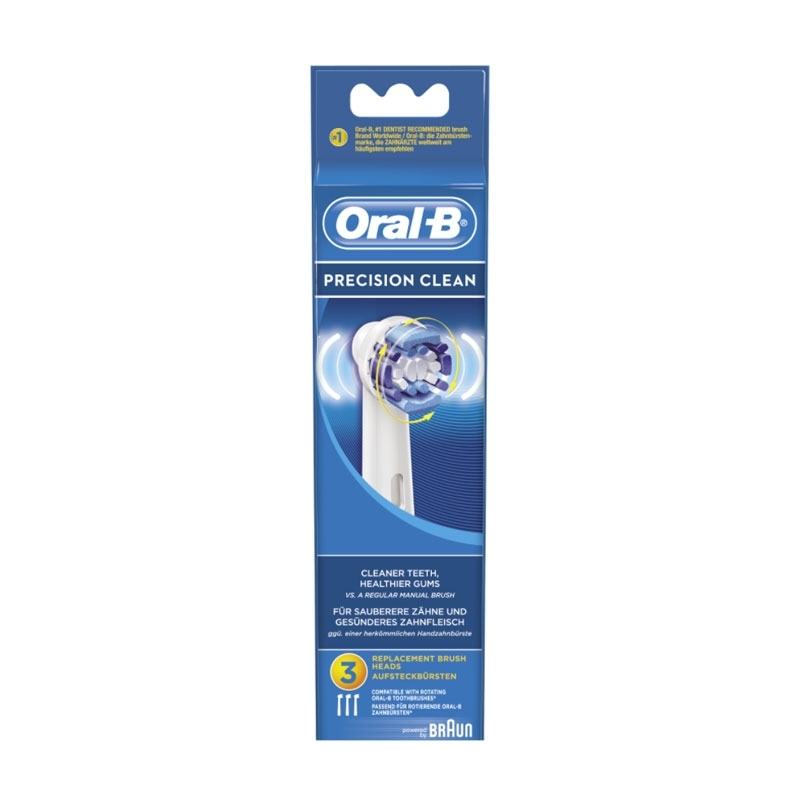 Recambio cepillo dental Braun Oral B EB20-3 Precision Clean 3 unidades