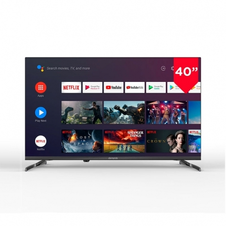 "Televisor LED 40"" Aiwa LED406FHD Full HD, Smart TV Android TV"