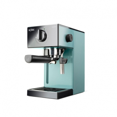 Cafetera Express Manual Solac CE4504 Blue Squissita Easy